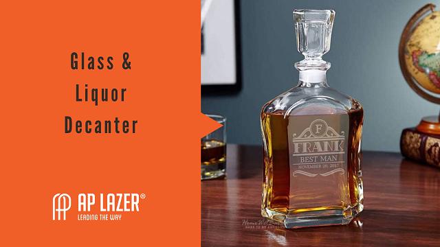 glass and liquor decanter