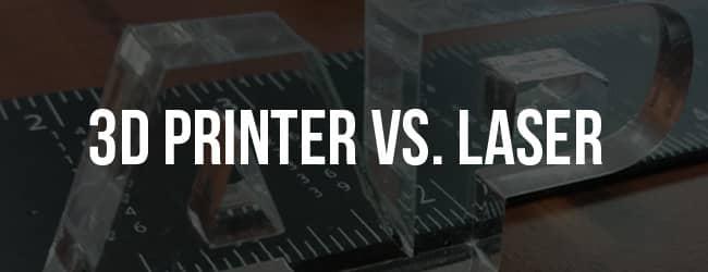 3d laser vs laser