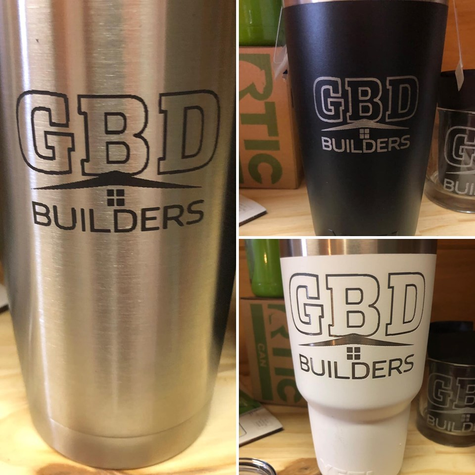 Engraved polar tumblers