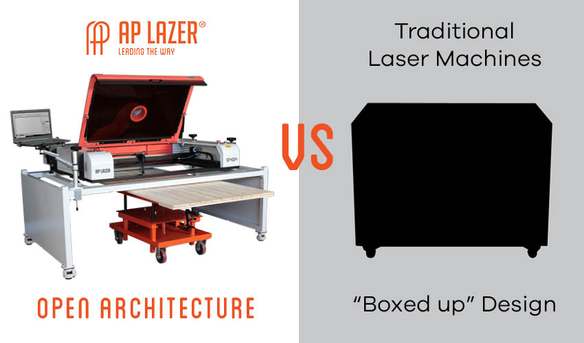 AP Lazer's Open-Architecture Vs. Traditional 'Boxed-up' Laser Machines