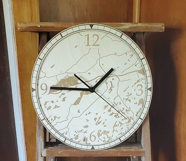 Clock Mark Woodland 2