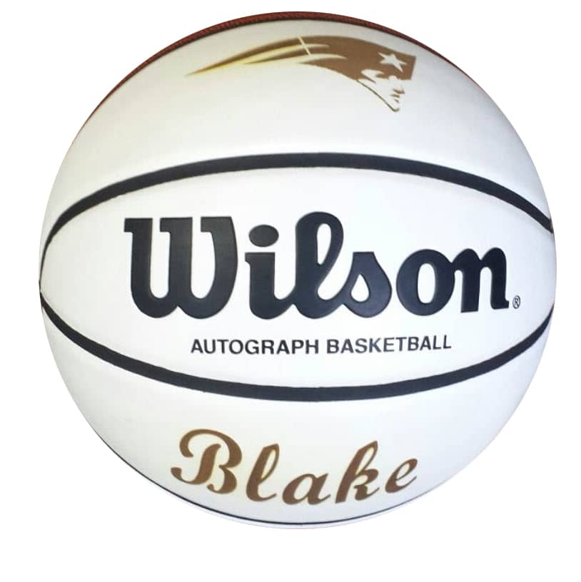 laser engraved leather basketball