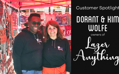 AP Lazer Customer Spotlight: Kim & Dorant Wolfe of Lazer Anything