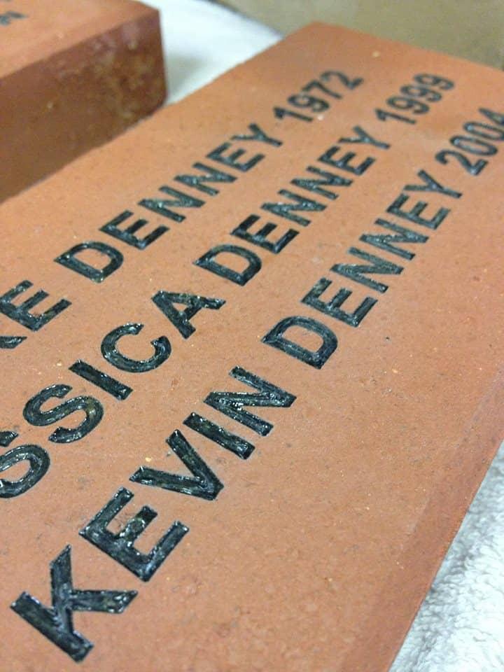 laser engraver for bricks