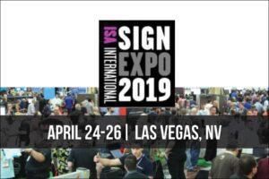 AP Lazer at the ISA Sign Expo in Las Vegas, NV