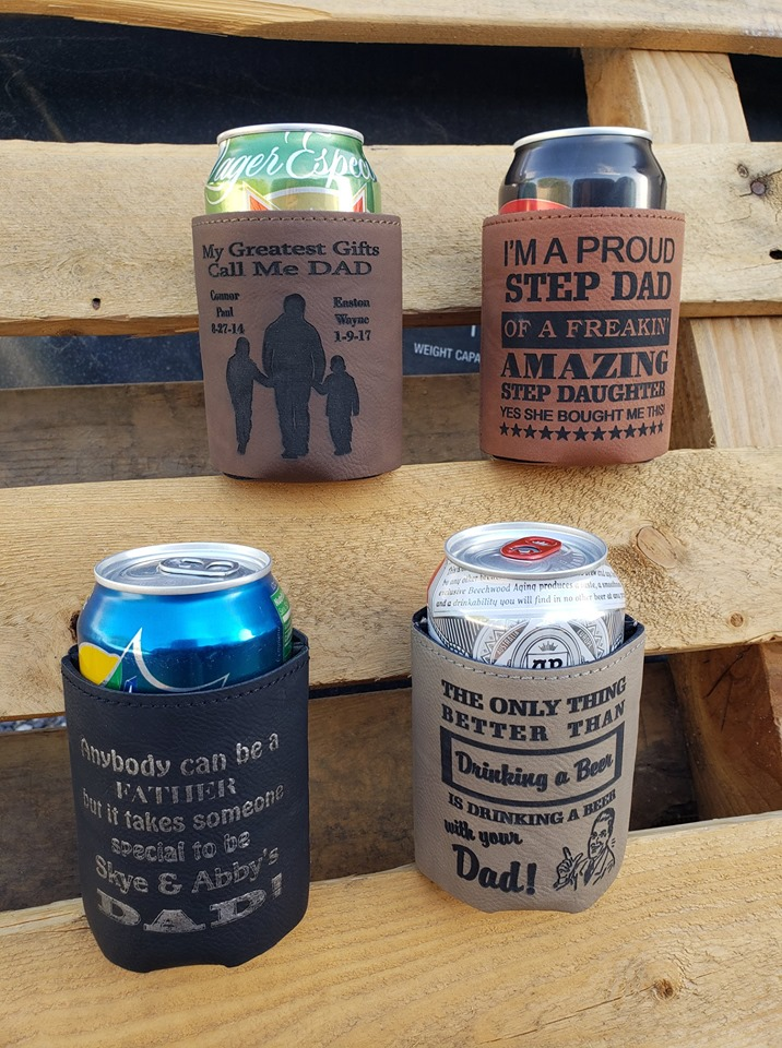 father's day coozies