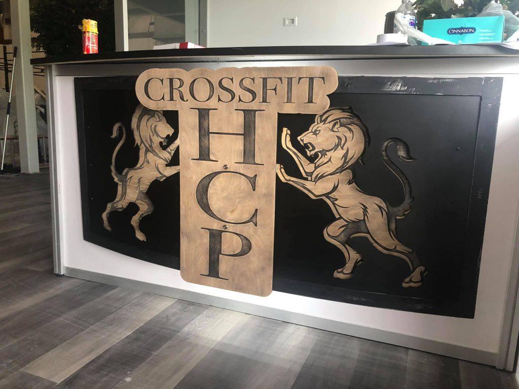 crossfit signage