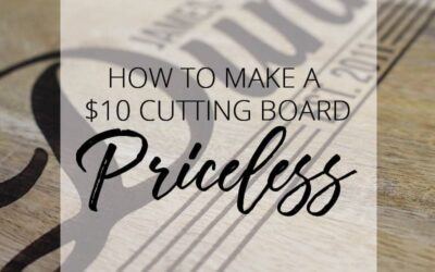 HOW TO: Laser Engrave a Wooden Cutting Board