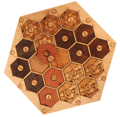 laser cut settlers of catan game
