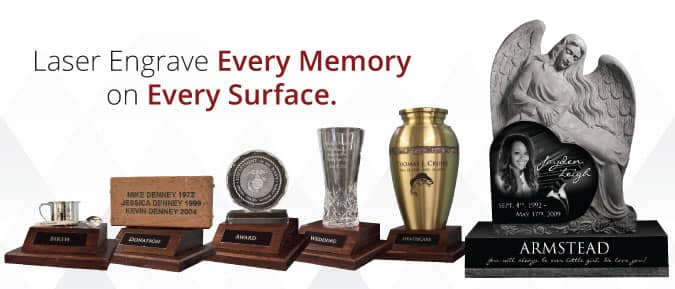 laser engraving machine memories