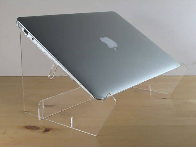 Laser Cut Acrylic Laptop Stand