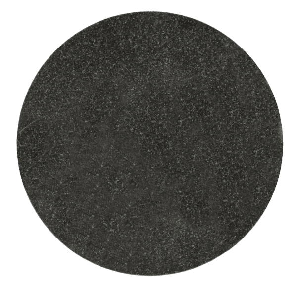 "Jet Black Granite Circle Plaque 11 3/4"" diameter x 3/8"" Thick-0"