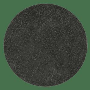 """Jet Black Granite Circle Plaque 6 7/8"""" diameter x 3/8"""" Thick-0"""