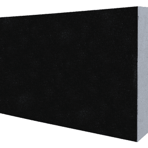 "Granite Flat Pet Marker-Jet Black-Szie: 10"" x 16""-2-0"