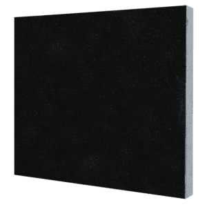 "Granite Tile-Jet Black-Size: 12"" x 12""-3/8-0"