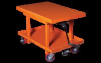 photo of mechanical lift cart
