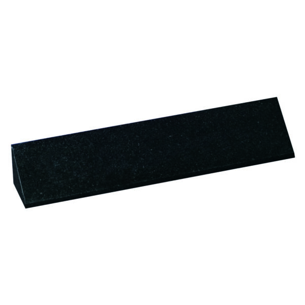 Jet Black Granite Triangle Name Plate-0