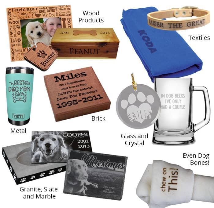 pet products engraveable copy