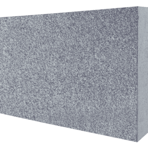 "Super Gray Granite Flat Pet Marker 1.5"" Thick - Blank-0"