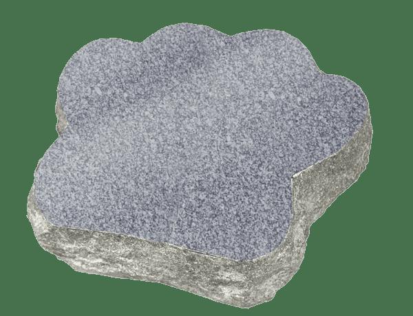"Granite Paw Marker 2"" thick-1218"
