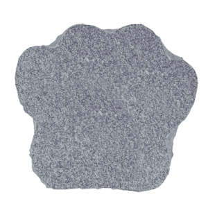 "Granite Paw Marker 2"" thick-0"