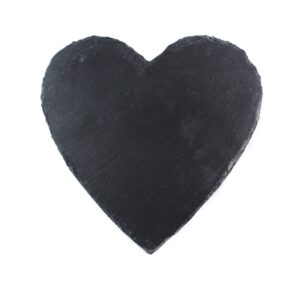 "Slate Heart Plaque: 8"" x 8""-0"