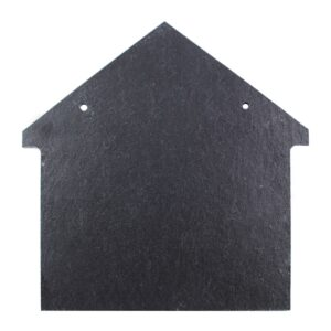"Slate House Plaque: 8"" x 8""-0"