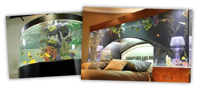 laser acrylic fish tanks