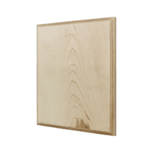Maple Wood Plaque: Decorative Bevel-0