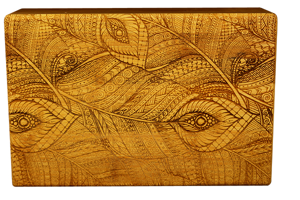 Bamboo Yoga Block-1071